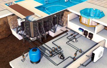 Системы подачи воды для домашних бассейнов