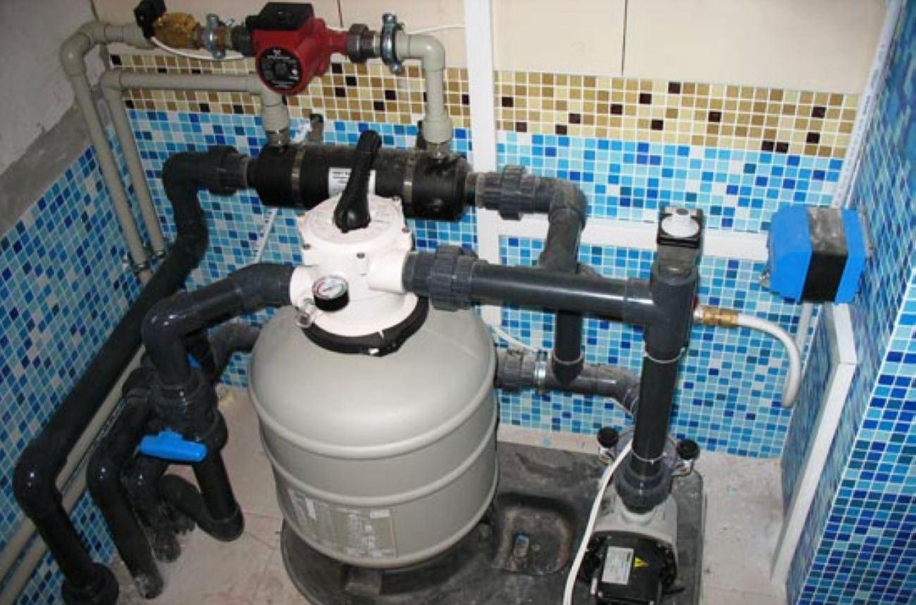 Систему очистки для бассейна своими руками 912